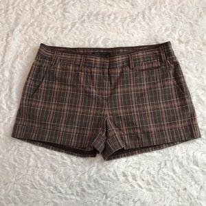 BCBGMaxAzria Plaid Shorts